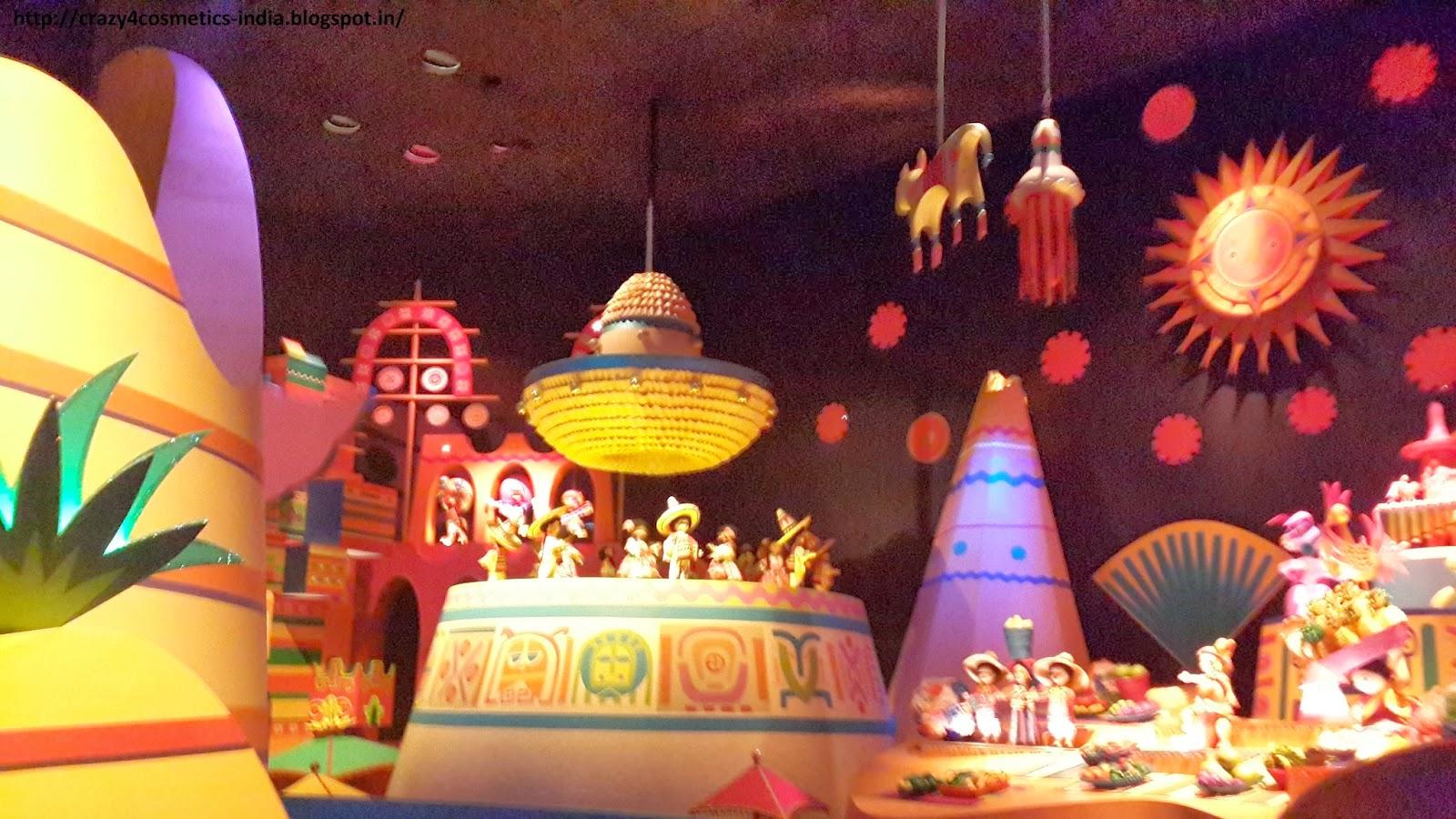 Hongkong Disneyland Rides- Hongkong Disneyland Tour- Hongkong Disneyland Its a Small World RIde
