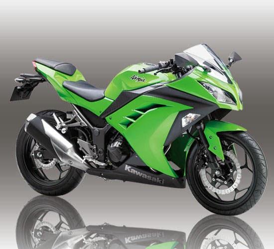 Gambar Kawasaki Ninja 250 Hijau