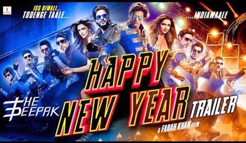 Happy New Year - Shah Rukh Khan, Deepika Padukone, Abhishek Bachchan, Sonu Sood, Boman Irani, Vivaan Shah - Vishal Shekhar - Farah Khan Gauri Khan