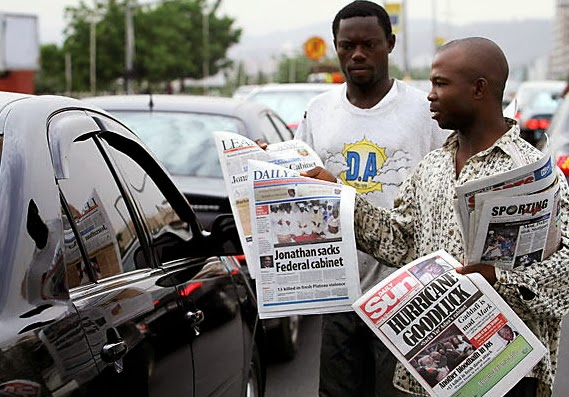 nigerian newspaper vendors