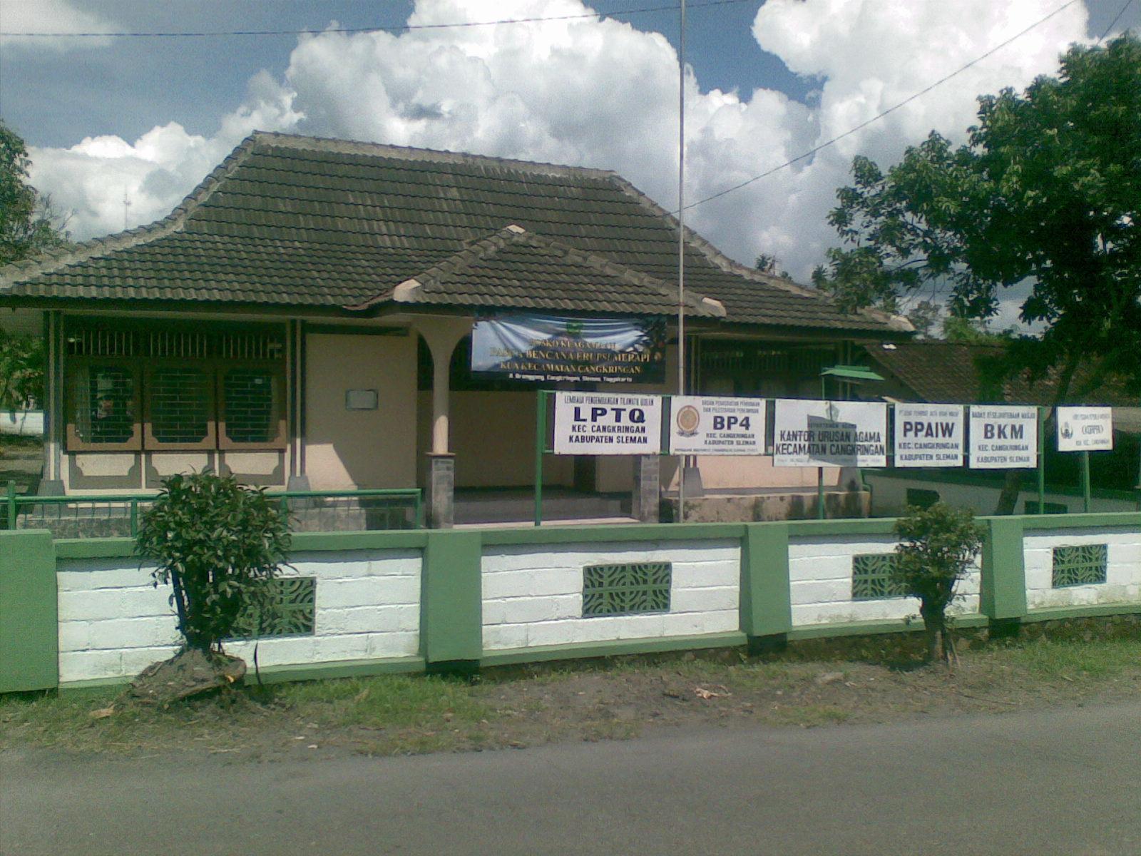 Gedung KUA Kec. Cangkringan