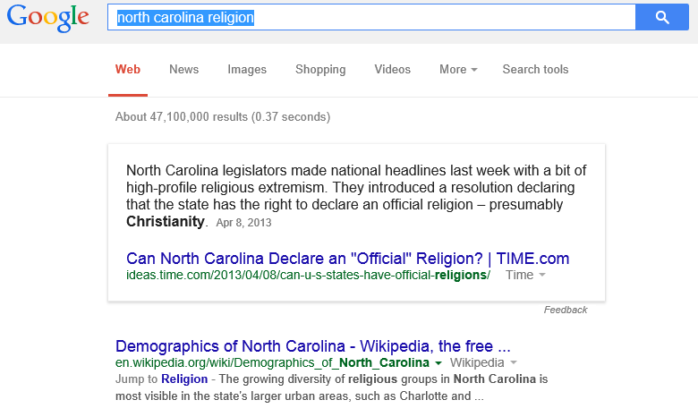 https://www.google.com/#q=north+carolina+religion
