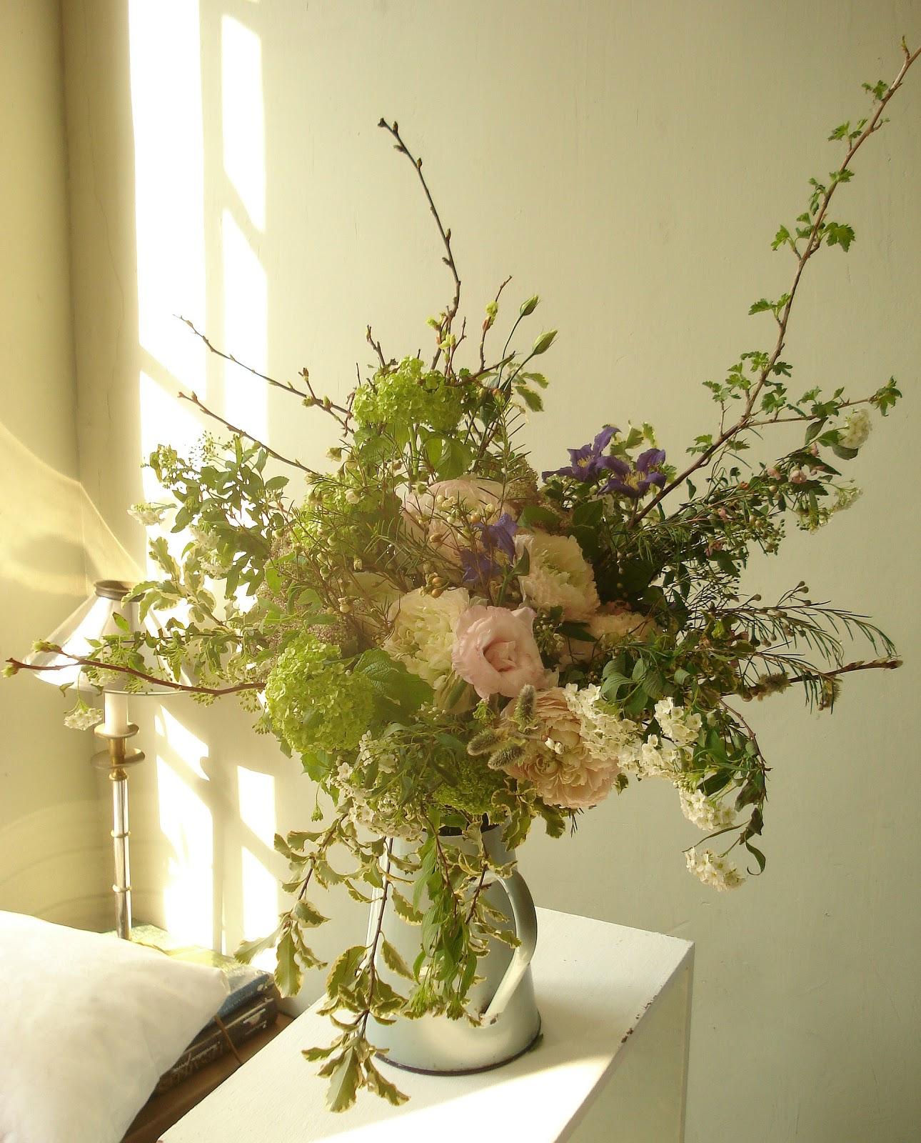 Bouquet shabby chic de printemps spring shabby chic bouquet for Bouquet chic