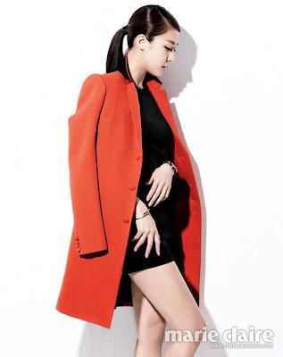 Ha Ji Won Marie Claire Magazine June 2013