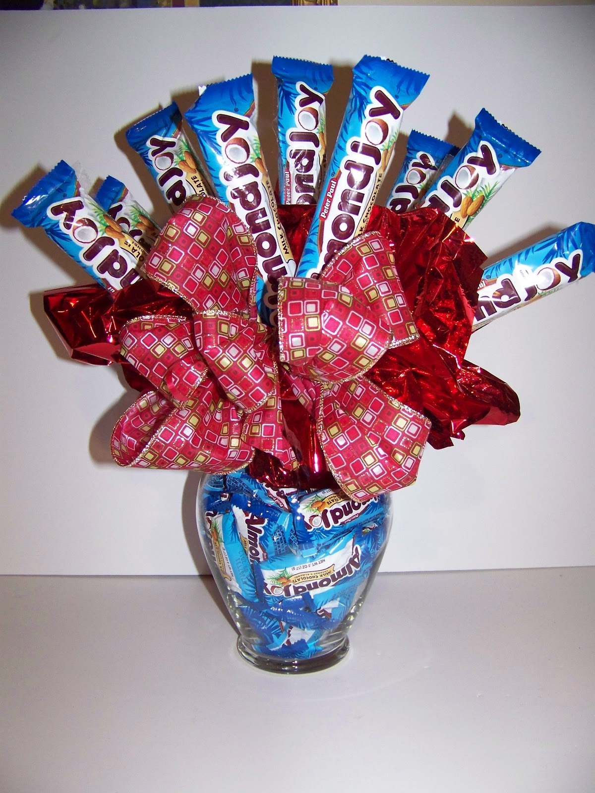 How to make a candy bouquet for man imgkid