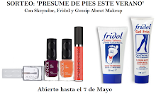 Sorteo Presume de pies este verano