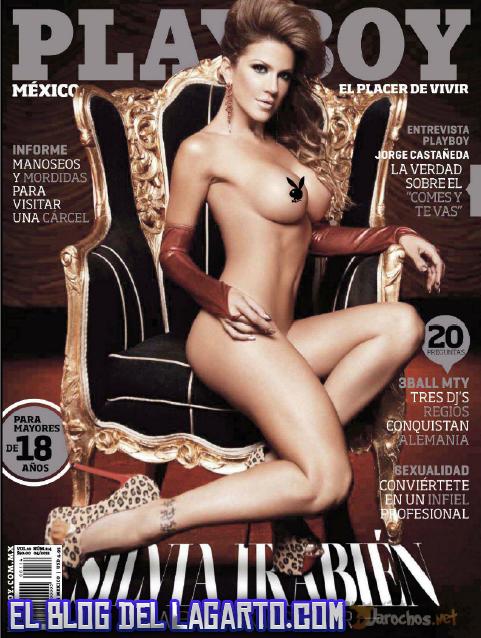 Revista  Silvia Irabien (la chiva) PlayBoy Mex Abril 2012