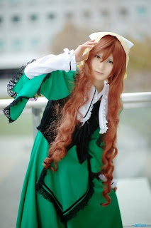 Hina Cosplay as Suiseiseki from Rozen Maiden