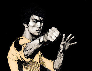 Skets of The Game of Death Legend