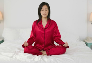 You need less sleep when you meditate?