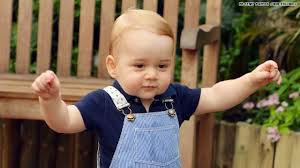 Royal Baby Prince George Walks