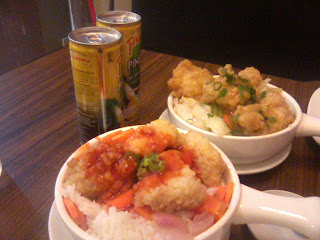 Sweet & Sour and Curry Fish at Mandarin Centrio