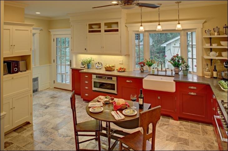 Red Kitchen Ideas ~ Room Design Ideas