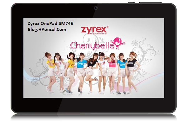 gambar tablet zyrex onepad sm746 dengan cherrybelle tablet pc dengan