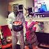 Hayley e Chad na noite de Halloween