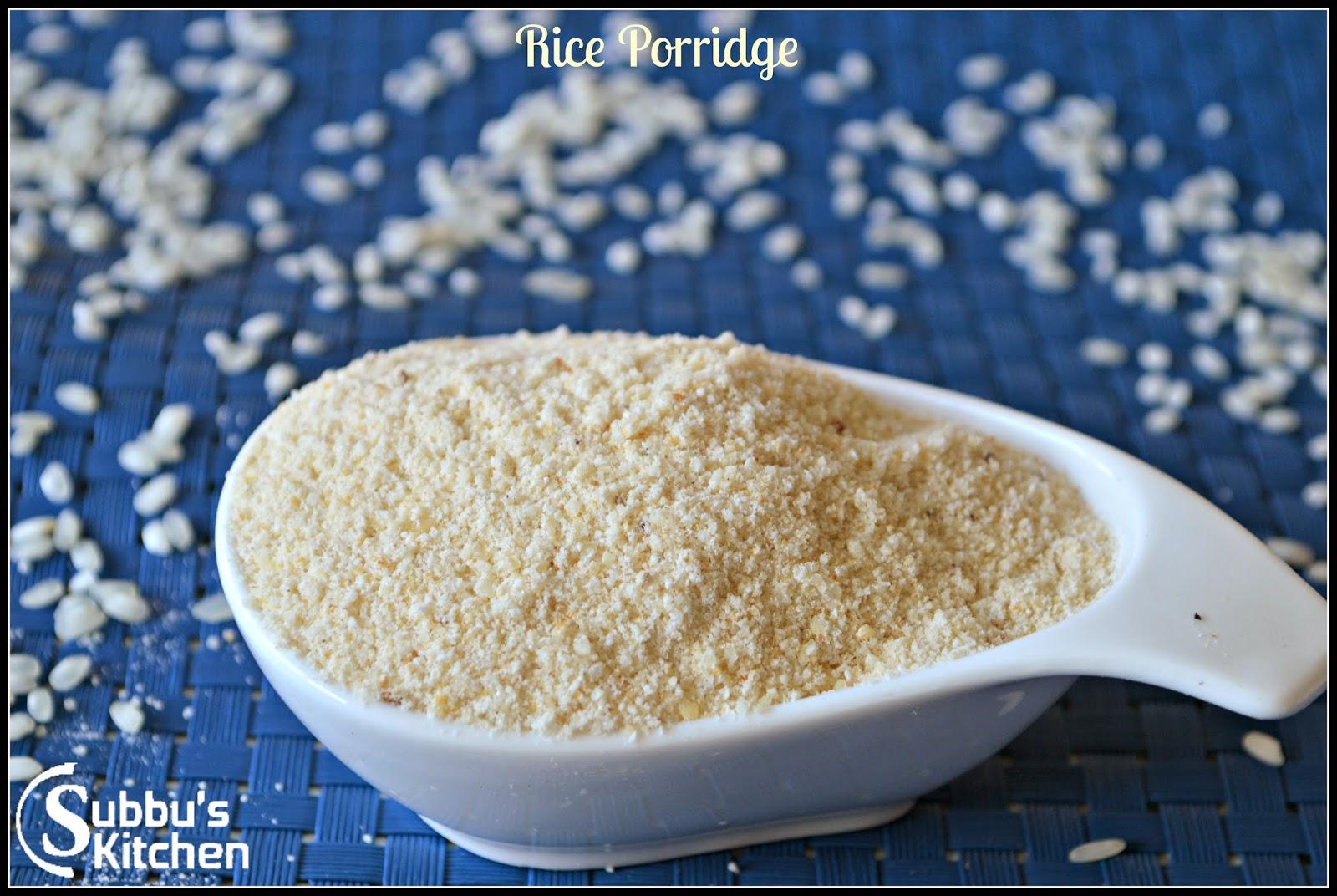 Parboiled Rice Porridge (Puzhungal Arisi Kanji)