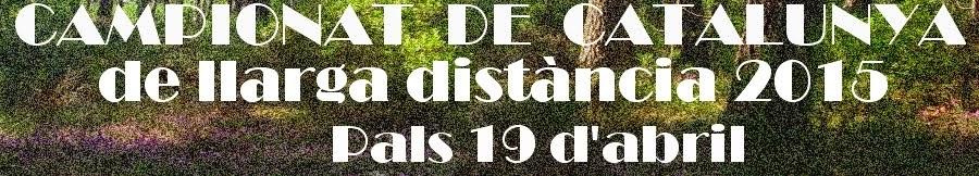 CAMPIONAT DE CATALUNYA DE LLARGA DISTÀNCIA 2015