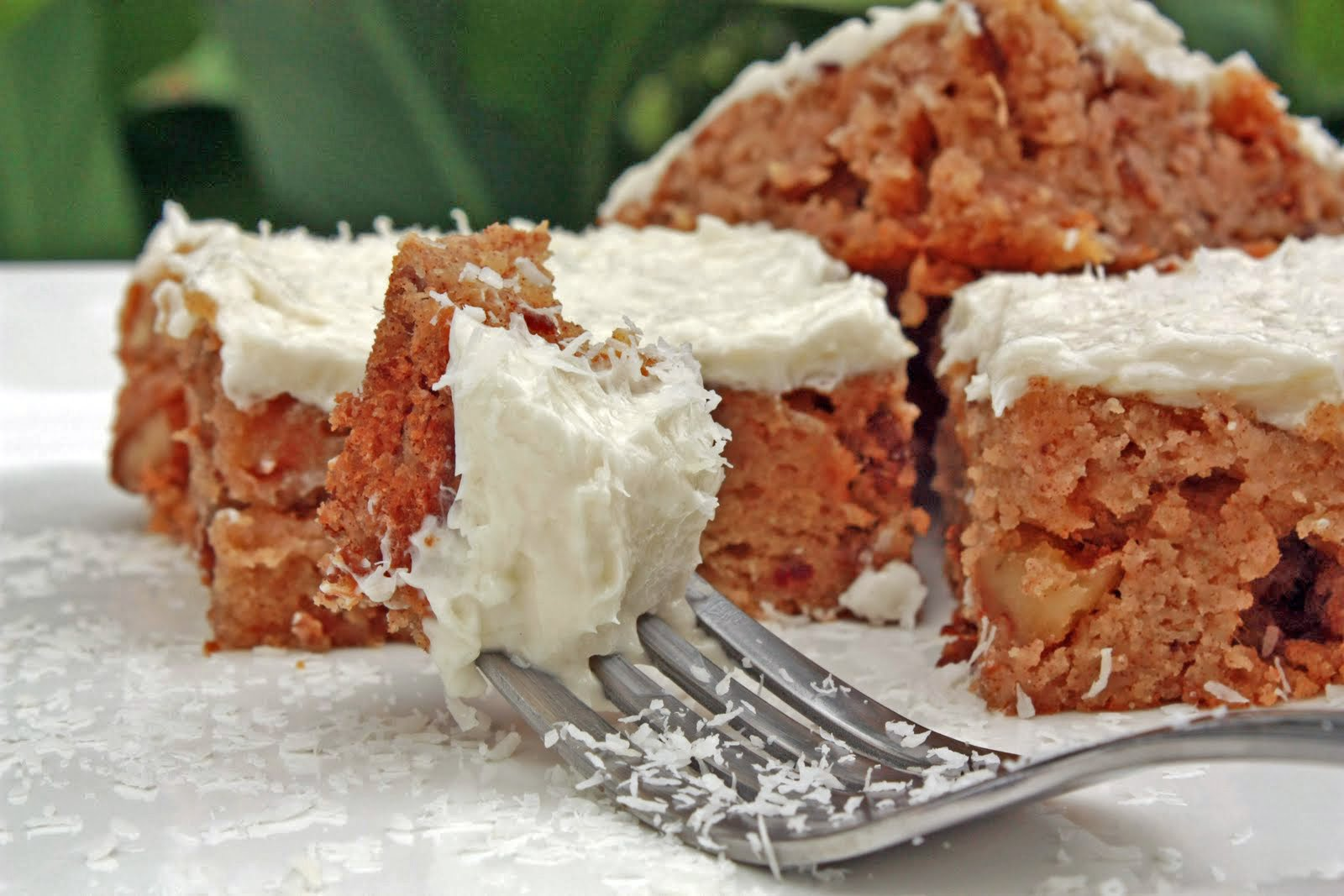 Coconut Butter Blondies with Coconut Buttercream Frosting - Primal ...