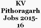 KV Pithoragarh Jobs