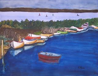 watercolor,acuarela,aquarel·la,punta del fangar,delta del ebre,rmora,roger mora,aquarel·les