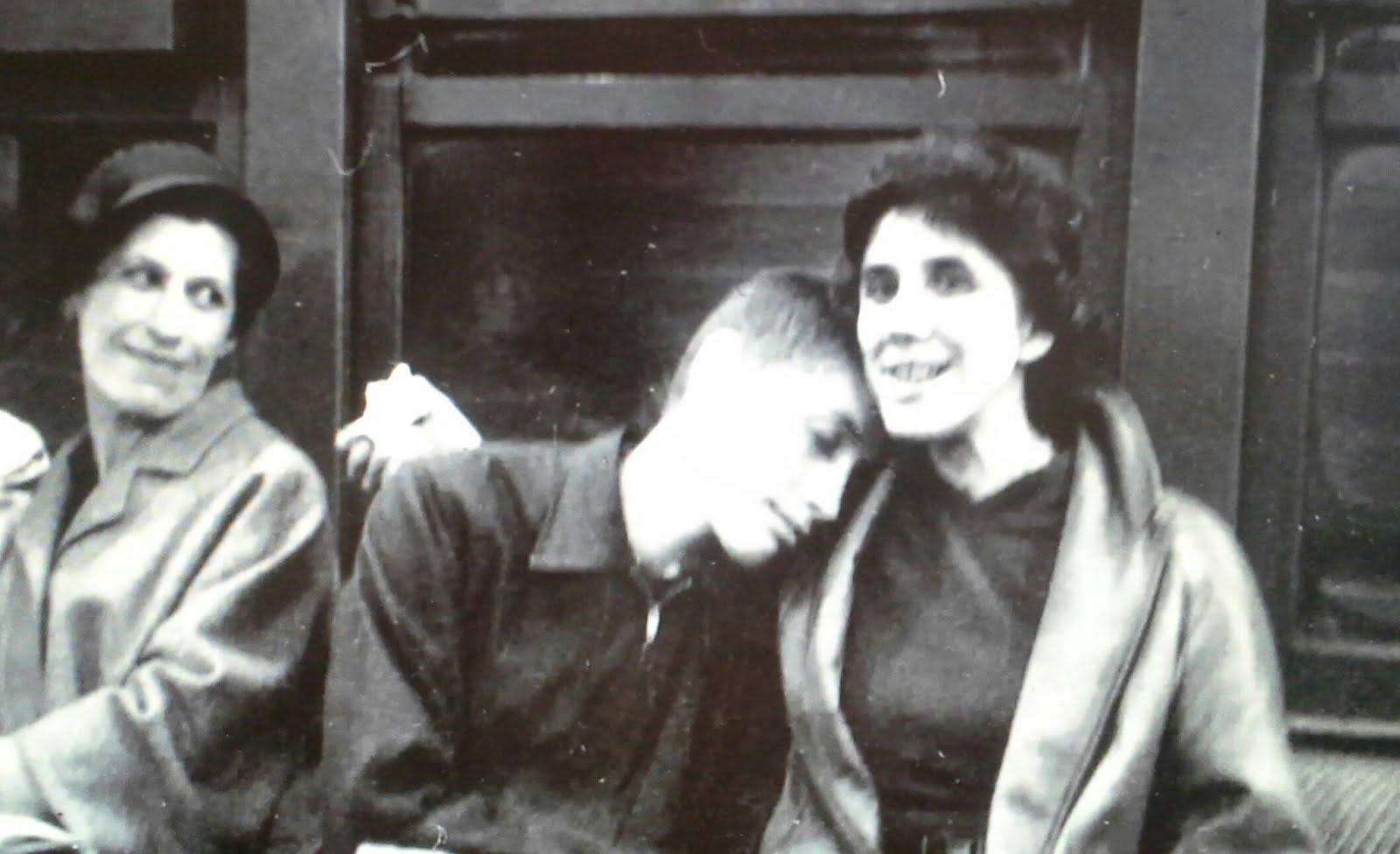 Bobby Ficher et sa mère  Régina Fischer