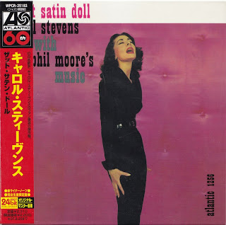 CAROL STEVENS - THAT SATIN DOLL (ATLANTIC 1957) Jap mastering cardboard sleeve