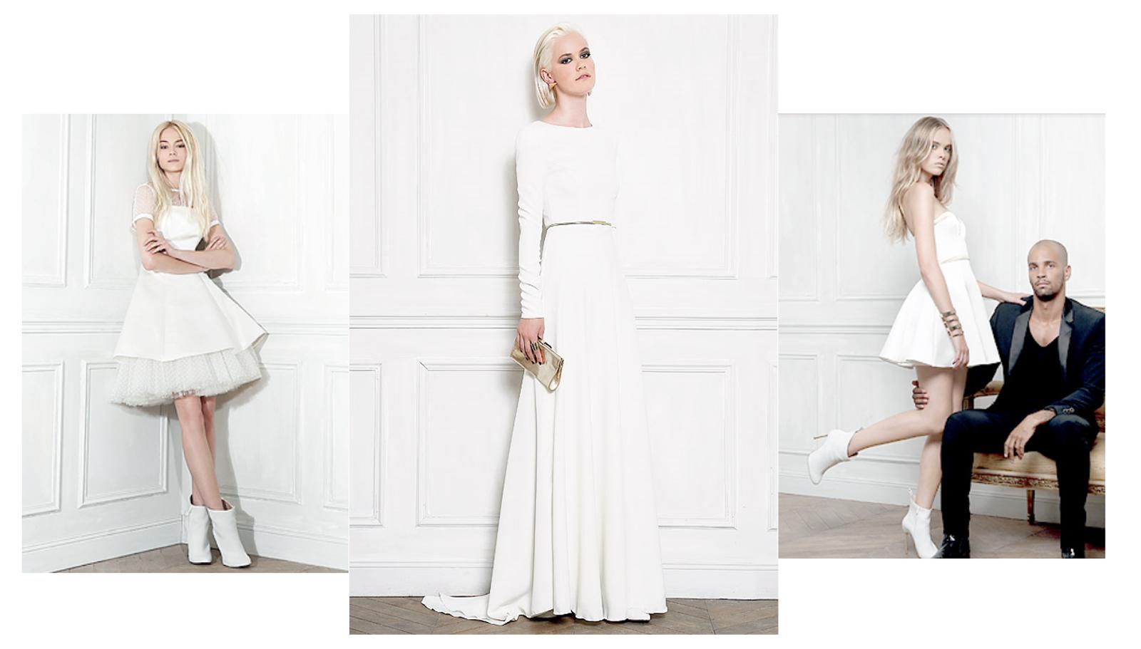 Robes de mariée collection William Carmimola pour Tati wedding moderne rock