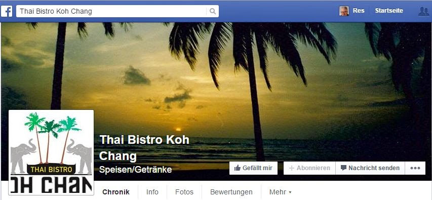 Der Link zur Facebookseite