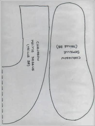 Тапочки сшитые из ткани своими руками. Sneakers