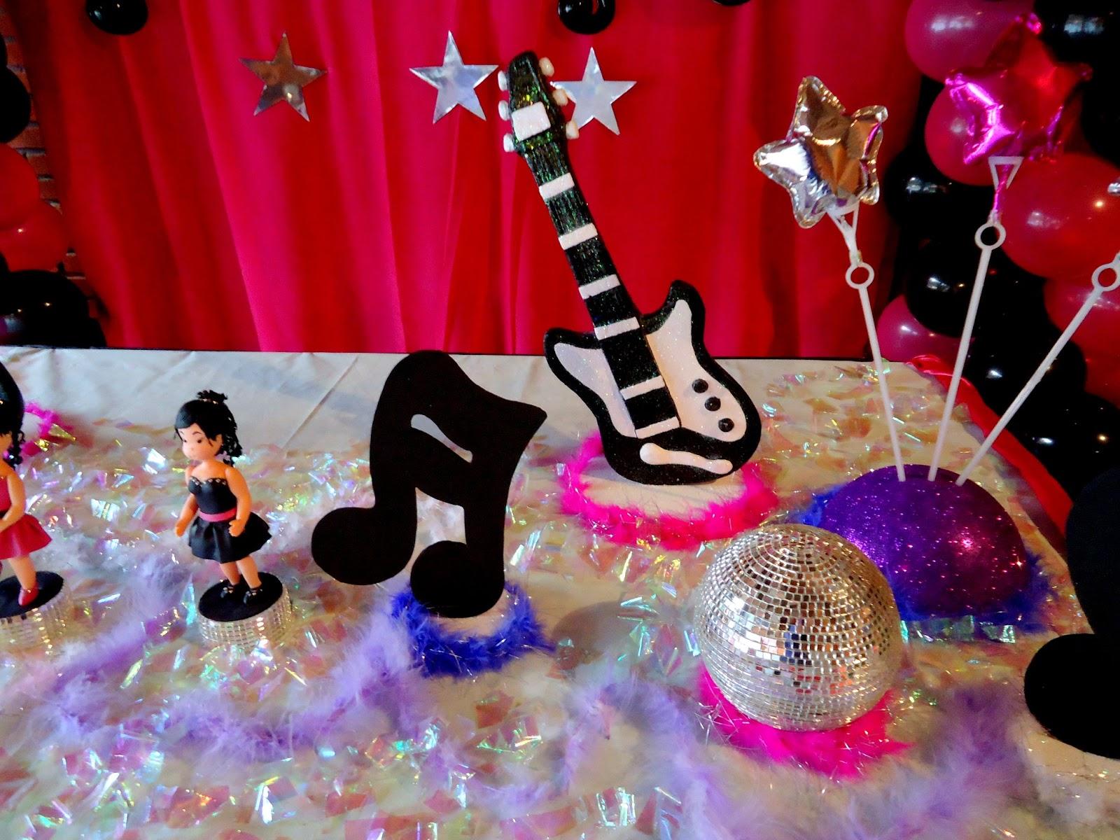decoracao festa balada infantil:Balada