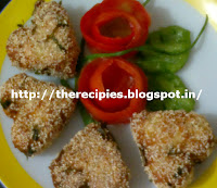 spicy paneer cutlet