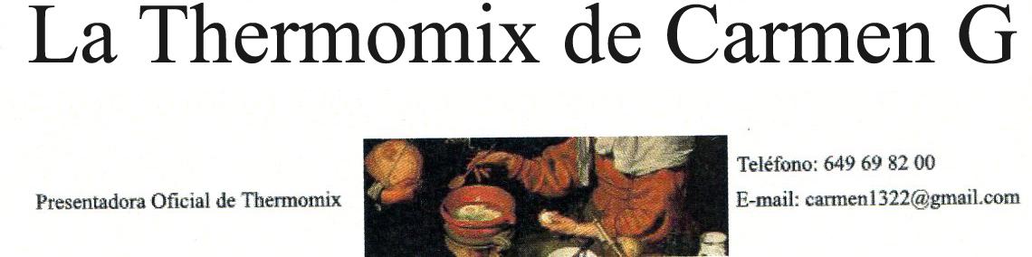 La Thermomix de Carmen G