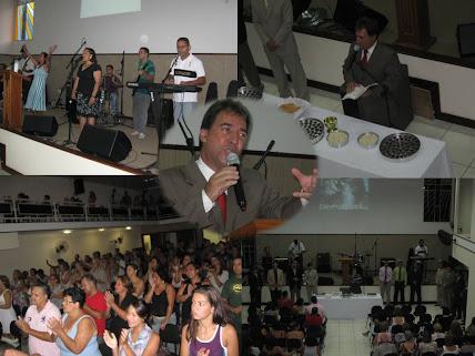 Culto com a Santa Ceia - Fev/2011