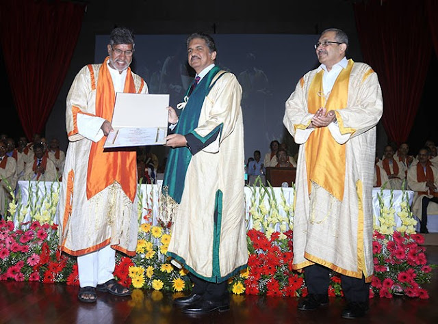 Anand Mahindra Doctorate IIT Bombay