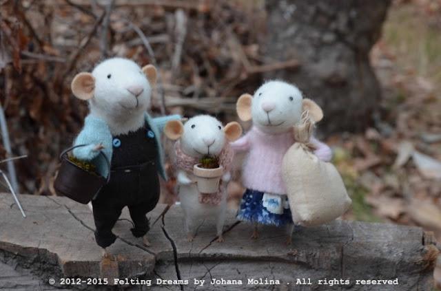 Os alegres e adoráveis bonecos de feltro de Johana Molina