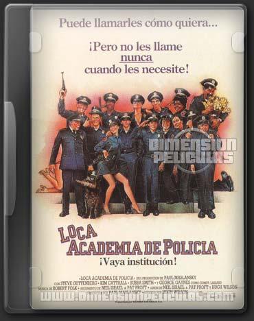 Saga Loca Academia de Policia (DVDRip)