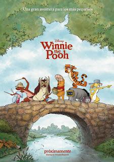 Cartel de la película Winnie the Pooh dirigida por Steve Anderson y Don Hall