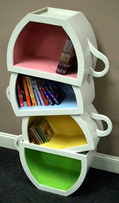 Different Bookshelf Ideas