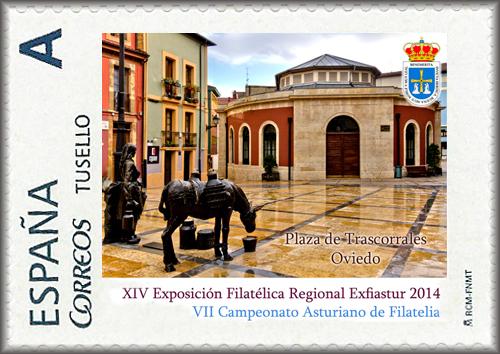 Sello Trascorrales Oviedo