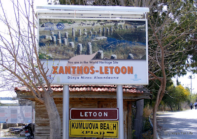 Letoon & Xanthos Sign