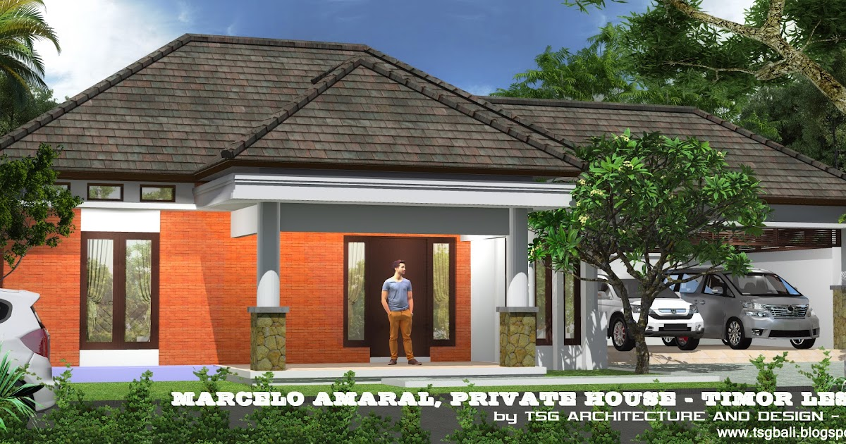 gambar 3 dimensi rumah tinggal dengan konsep natural