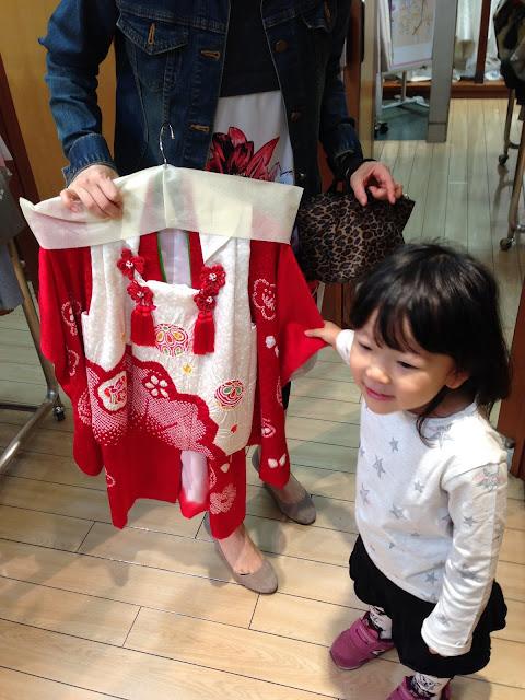 着物 前撮り 準備 3歳女の子