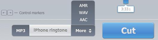 Cách cắt nhạc chuông điện thoại với mp3cut