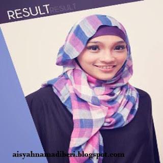 Cara Memakai Jilbab Kreasi Jilbab Pashmina Model Kotak-Kotak Untuk Sehari-Hari