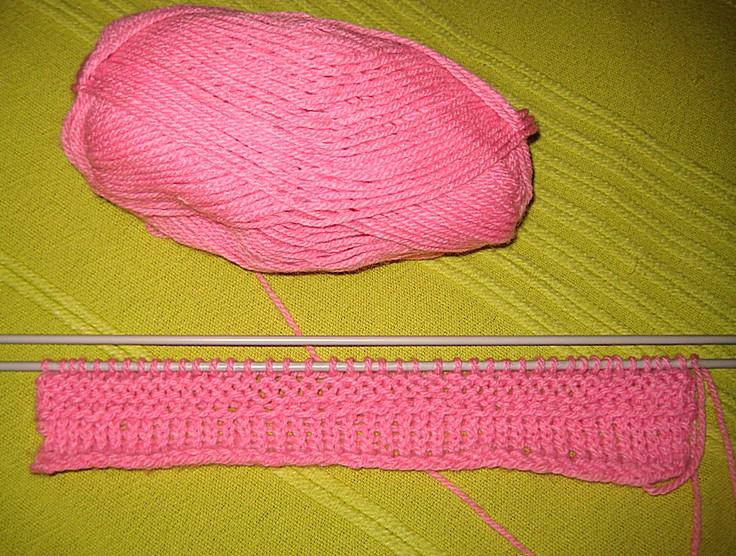 Pletenje za pocetnike: Pocetak, prava i obrnuta petlja. Photo Tatajana