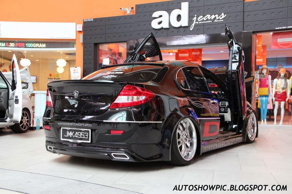 VIP style Proton Persona rear