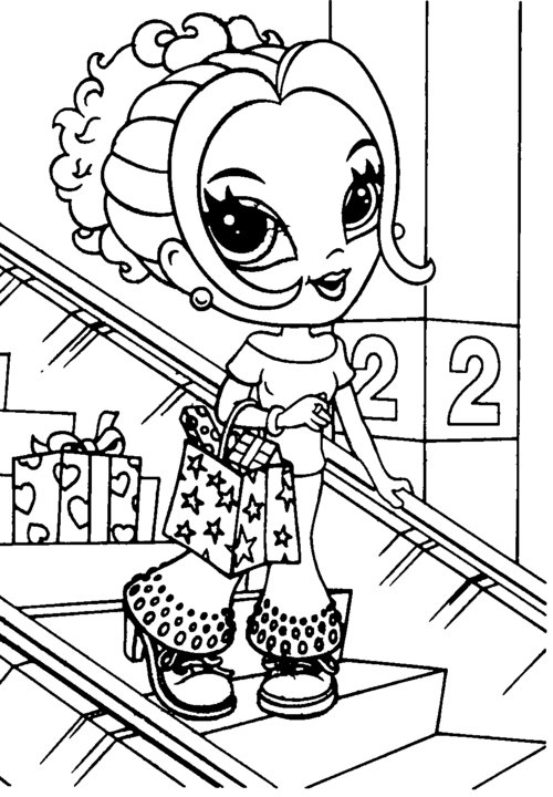 lisa frank free coloring pages - photo#14