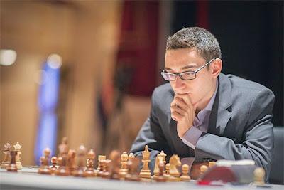 Grand Prix d'échecs de Bakou ronde 2 : Fabiano Caruana aurait pu gagner contre Boris Gelfand - Photo © Maria Emelianova