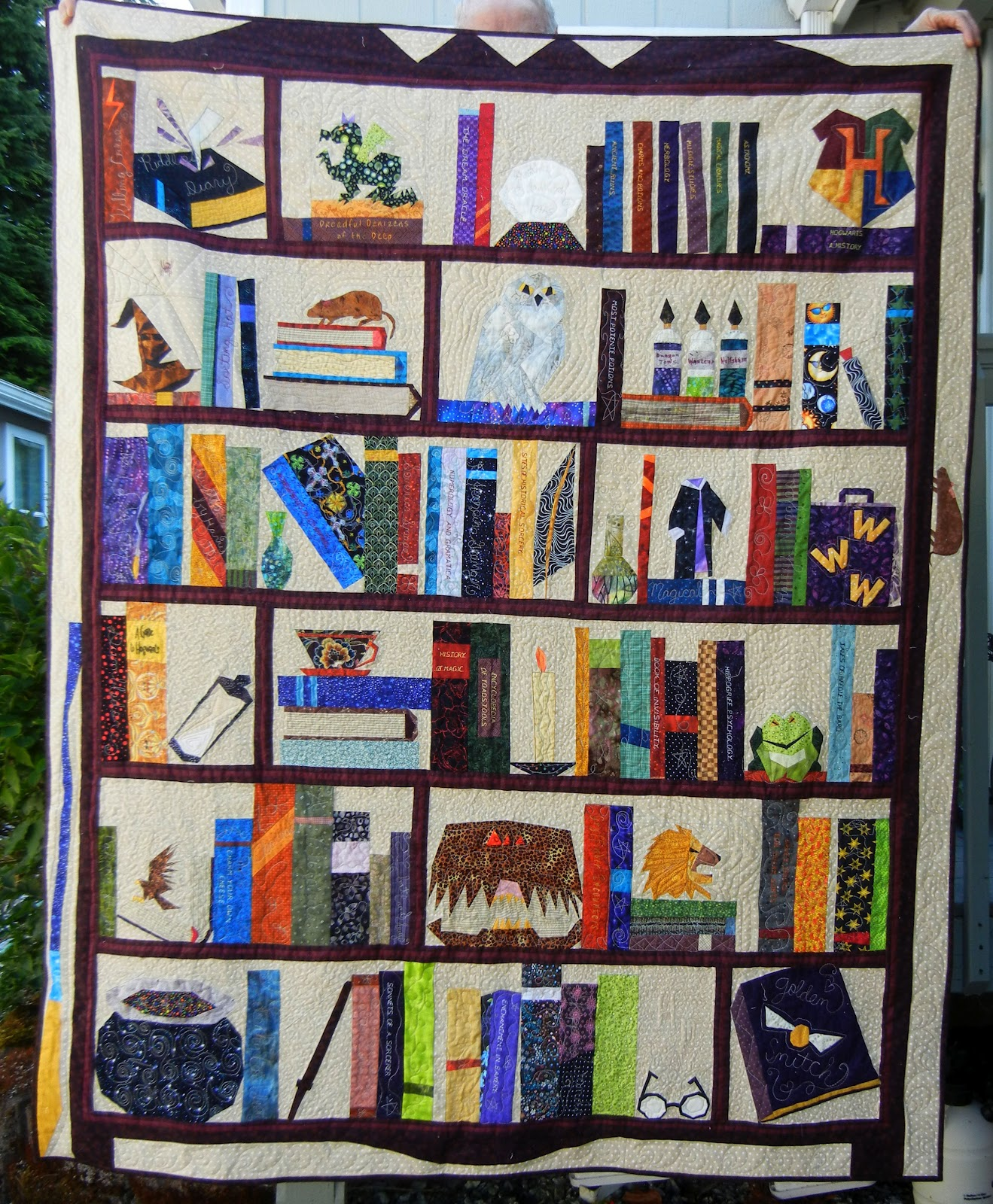 Judy S Quilts And Thoughts Harry Potter Quilt