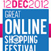 12-12-12 : Great Online Shopping Festival (GOSF) on 12 December 2012 by Google India